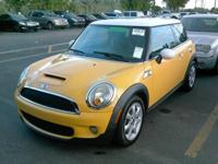 Options:  2009 Mini Cooper S 2Dr Hatchback|Yellow|No