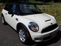 CARFAX One-Owner. Clean CARFAX. Pepper White 2009 MINI