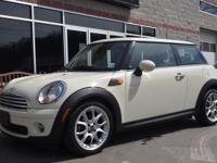 Rate consists of warranty! Low-mileage 2009 MINI Cooper