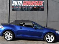 This 2009 Mitsubishi Eclipse 2dr GS Spyder features a