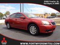 2009 Mitsubishi Galant in Rave Red Pearl and Local