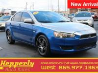This 2009 Mitsubishi Lancer ES in Octane Blue Pearl