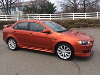 2009 Mitsubishi Lancer GTS. very clean low miles 1