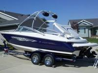 2009 Monterey 214 FC Bowrider With Monterey Tower and