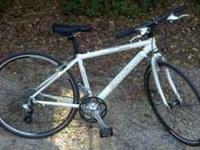"2009 Motobecane Cafe Latte Hybrid Bicycle. 17"" frame"
