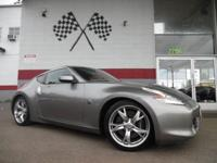 Options:  2009 Nissan 370Z Base 2Dr Coupe 6M|Grey|Vin: