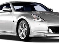 This 2009 Nissan 370Z two door Coupe features a 3.7L V6