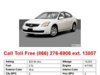 2009 Nissan Altima 2.5 4dr Sedan Sedan Black FWD I4