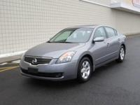You are looking at a Gray. 2009 Nissan Altima. This is