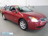 Altima Hybrid, Nissan Certified, 2.5L I4 DOHC 16V,