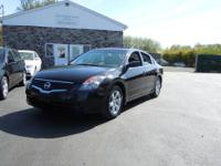 This One Owner Nissan Altima is Sharp in Black with the