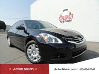 This Altima is a real beauty! Black exterior with black