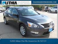 JUST TRADED, CVT, CLEAN CARFAX, and LOCAL TRADE. The