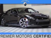 Options:  2009 Nissan Gt-R Premium Black 3.8L