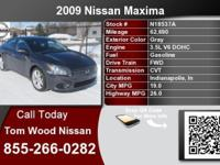 Call Tom Wood Nissan at  Stock #: N18537A Year: 2009