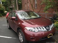 2009 Nissan Murano S AWD Red with Clean Grey cloth