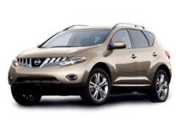 Clean CARFAX. 2009 Nissan Murano AWD CVT with Xtronic