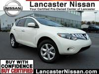Our One Owner 2009 Nissan Murano S AWD in White is a