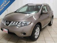This 2009 Nissan Murano is here with low miles and just