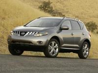 Super Black 2009 Nissan Murano SL AWD Automatic 3.5L V6