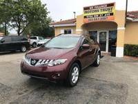Options:  2009 Nissan Murano Sl 4Dr Suv|Burgundy|2009