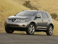 Graphite 2009 Nissan Murano SL FWD CVT with Xtronic