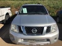 Gray 2009 Nissan Pathfinder SE 4WD 5-Speed Automatic