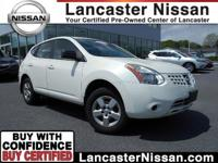 Our CarFax One Owner 2009 Nissan Rogue S AWD in White