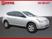 Silver Ice 2009 Nissan Rogue S FWD CVT 2.5L 4-Cylinder
