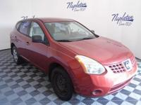 2009 Nissan Red Rogue Clean CARFAX.Odometer is 6664
