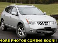 New Price! 2009 Nissan Rogue SL Silver Ice 2.5L
