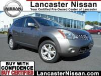 Our 2009 Nissan Rogue SL in Gotham Gray is going to