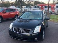 Super Black 2009 Nissan Sentra 2.0 S FWD CVT with