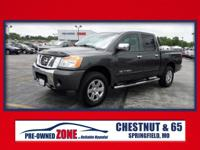 2009 Nissan Titan SE in Smoke with Charcoal Leather,