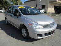 Options:  2009 Nissan Versa 4D Sedan
