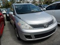 Options:  2009 Nissan Versa 1.8 S|Silver|No Accidents