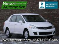This Clean Carfax One Owner Versa 1.8S has all the