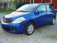 For sale is a 2009 Nissan Versa Hatchback, 4 cylinder,