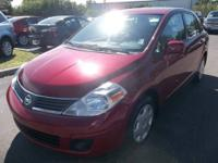 Save Now!!! This fuel efficient Versa is a perfect fit