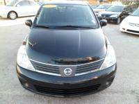 2009 NISSAN VERSA,ONE OWNER CLEAN CAR FAX NEVER BEEN AN