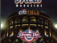 METS OPENING DAY FIRST GAME PROGRAMS SCORECARDS