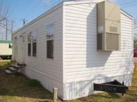 WILL DISCOUNT FOR CASH BUYER! 12x40 2 bedroom 1 bath in