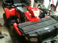 2009 Polaris athlete x2 800. This four wheeler is a 2