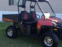 This is a clean 2009 limited edition Polaris Ranger XP