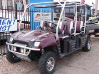 This Polaris Ranger 700 is like new, and ready for the