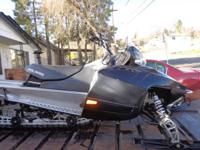 2009 Polaris RMK with Holz A-Arms, SLP full exhaust,