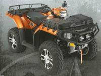 Make: Polaris Mileage: 1,158 Mi Year: 2009 Condition: