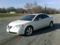The Pontiac G6 GT sedan features 17-inch alloy tires,