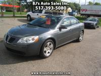 Options:  2009 Pontiac G6 Very Sharp Inside And Out