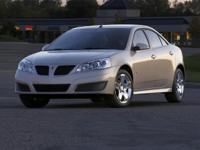 Recent Arrival! 2009 Pontiac G6 4D Sedan w/1SA *Ltd